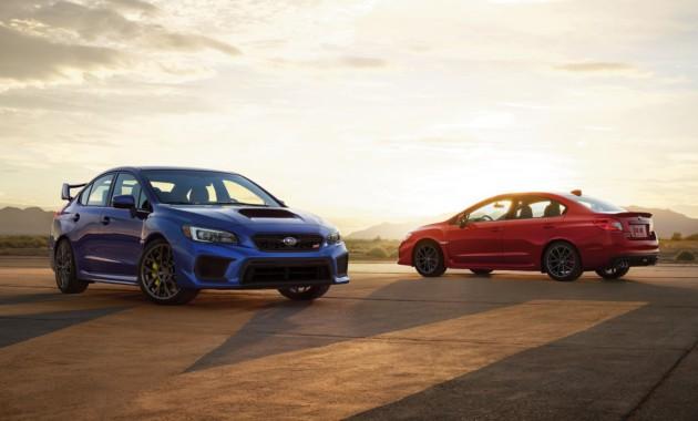 Озвучены цены обновлённых седанов Subaru WRX иWRX STI 2018 модельного года