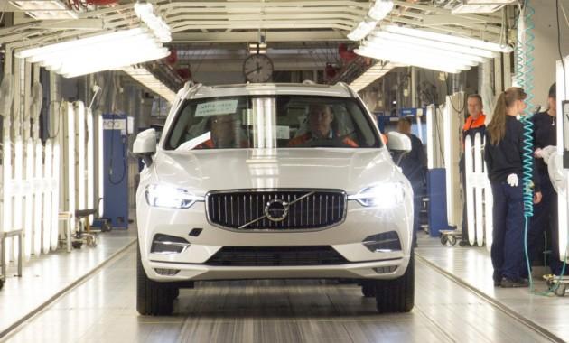 Нашведском предприятии стартовало производство Вольво XC60 обновленного поколения