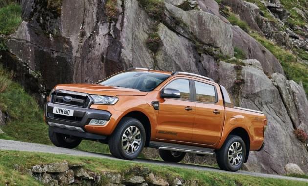 Пикап Форд Ranger готовится к«завоеванию» авторынка Китая