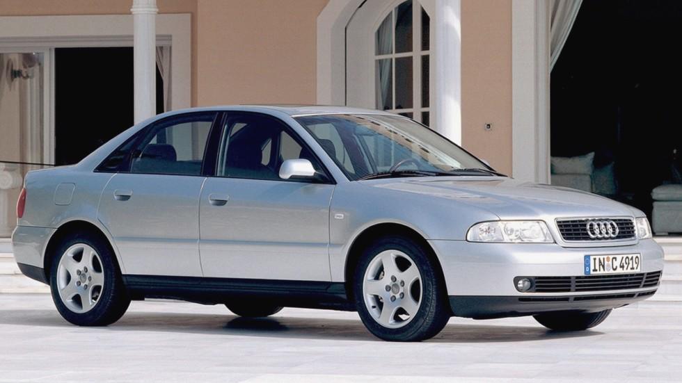На фото: Audi A4 (B5,8D) '1997–2000
