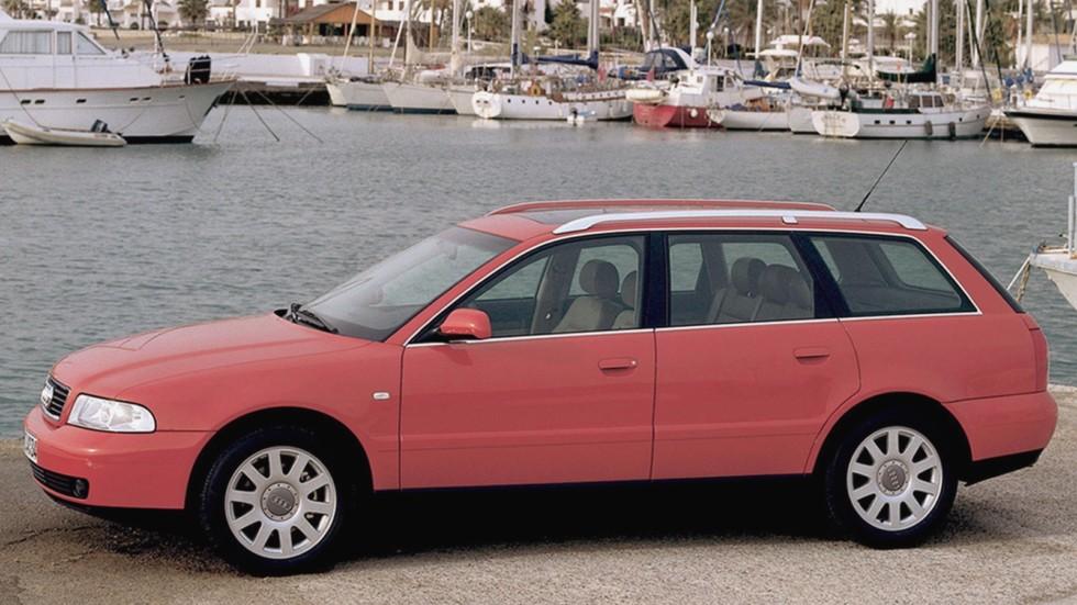На фото: Audi A4 Avant (B5,8D) '1996–2001