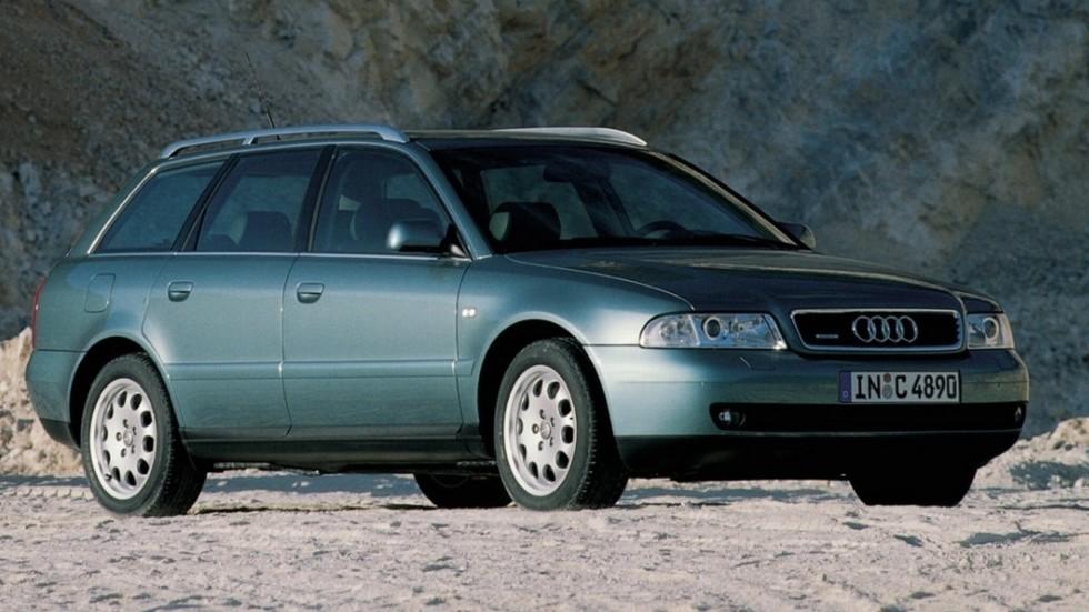 На фото: Audi A4 quattro Avant (B5,8D) '1997–2001