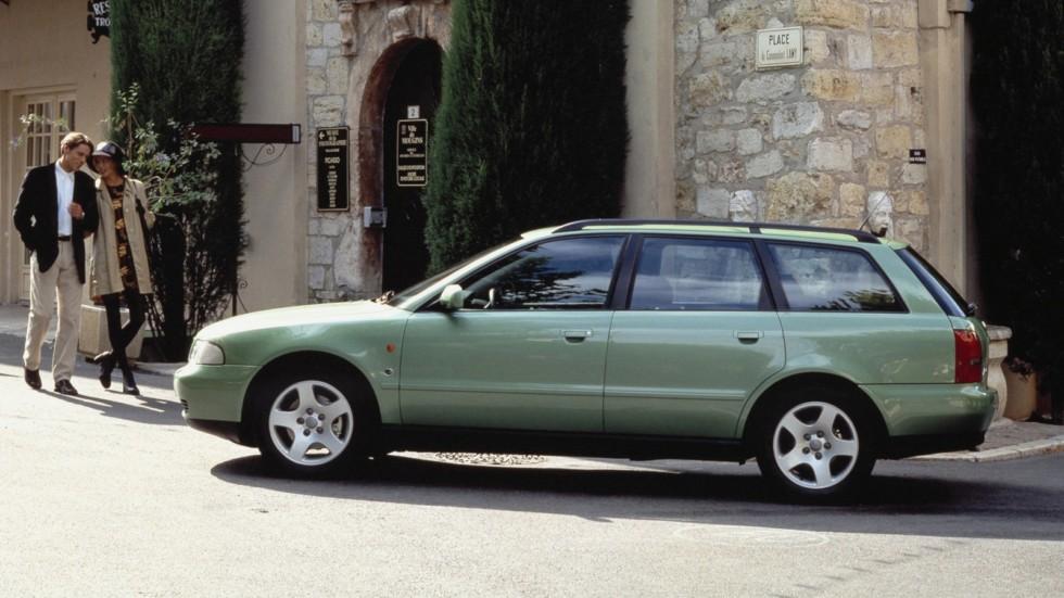 На фото: Audi A4 Avant (B5,8D) '1995–2001