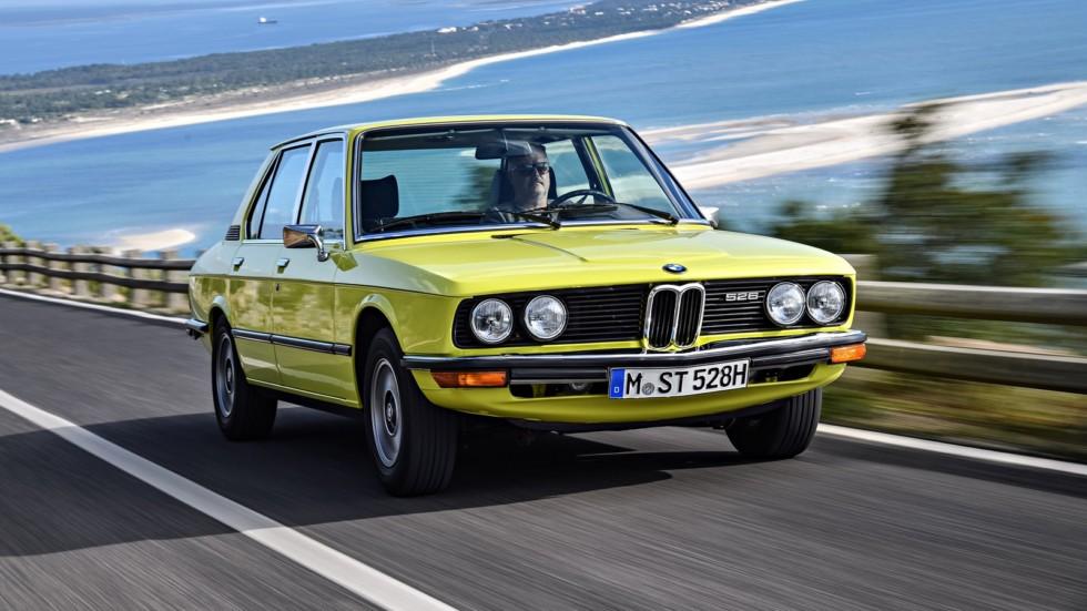 На фото: BMW 528 Sedan (E12) '1974–76