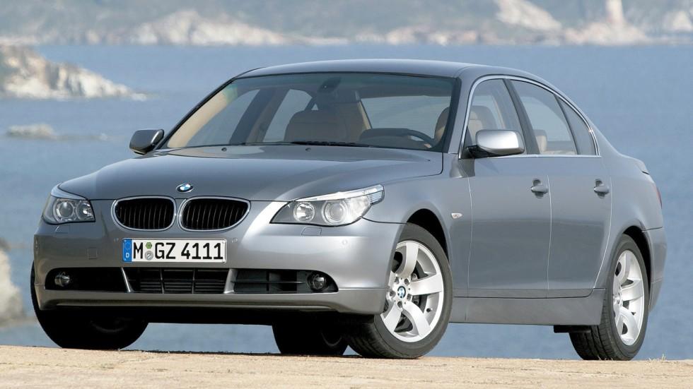 На фото: BMW 530d (E60) '2003–07