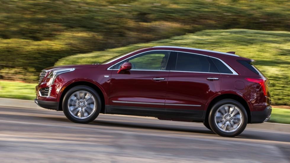 На фото: Cadillac XT5 '2016–н.в.
