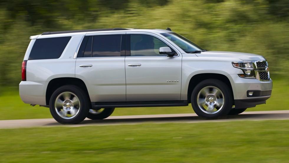 На фото: Chevrolet Tahoe LT '2014–н.в.