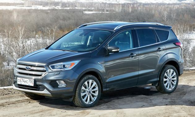 Ford Kuga стал бестселлером марки в России впервом квартале