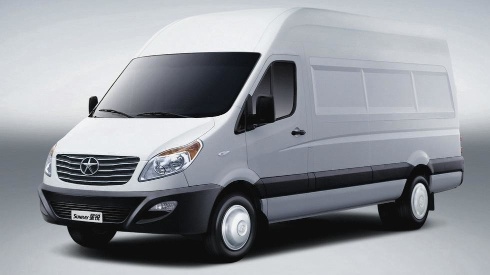 JAC Sunray Van '2012–н.в.ы