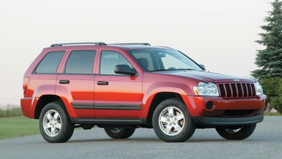 На фото: Jeep Grand Cherokee (WK) '2004–07