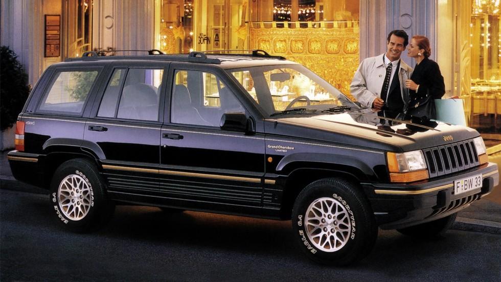 На фото: Jeep Grand Cherokee (ZJ) '1993–96