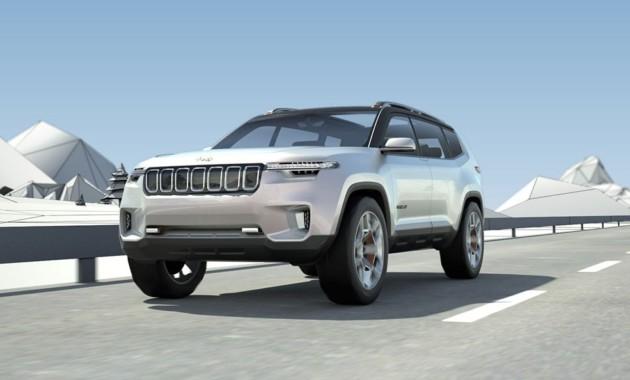 Концепт-кар  Jeep Yuntu намекает на немалый  кроссовер для Китая