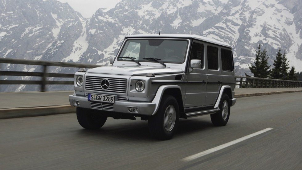 На фото: Mercedes-Benz G 320 '2006–2009