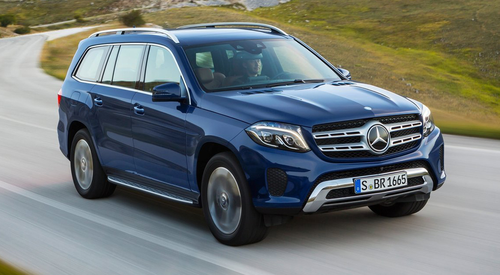 На фото: Mercedes-Benz GLS