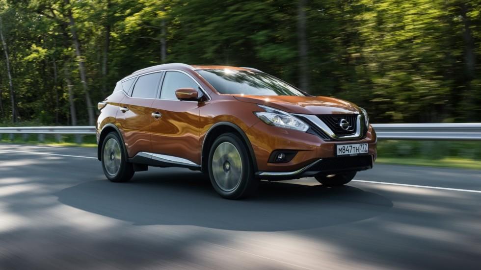 На фото: Nissan Murano '2016–н.в.