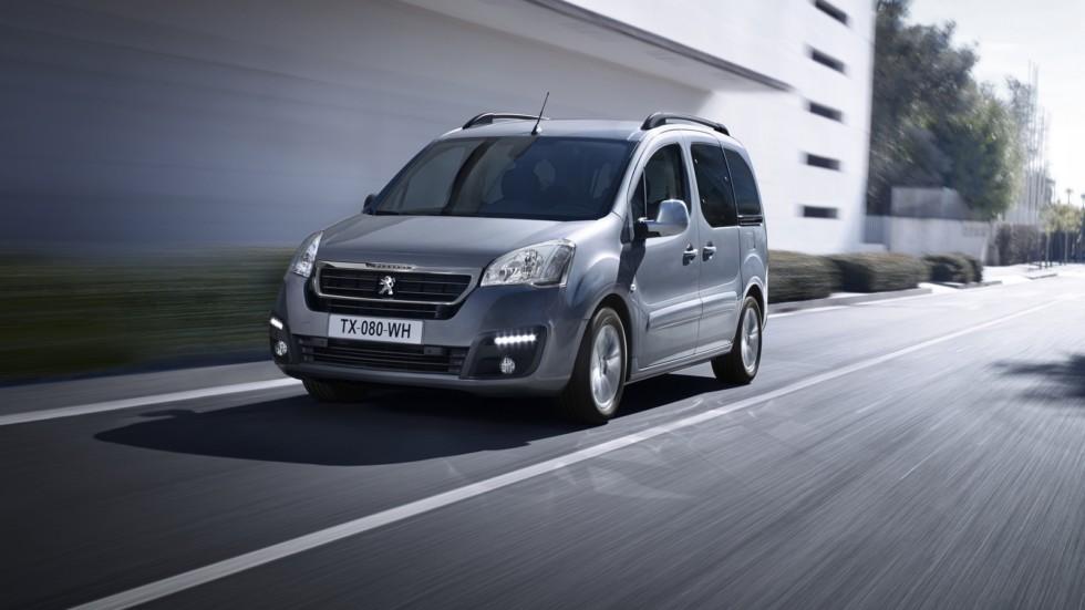 На фото: Peugeot Partner Tepee '2015–н.в.