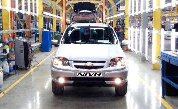 ВКазахстане стартовало массовое производство Шевроле Niva