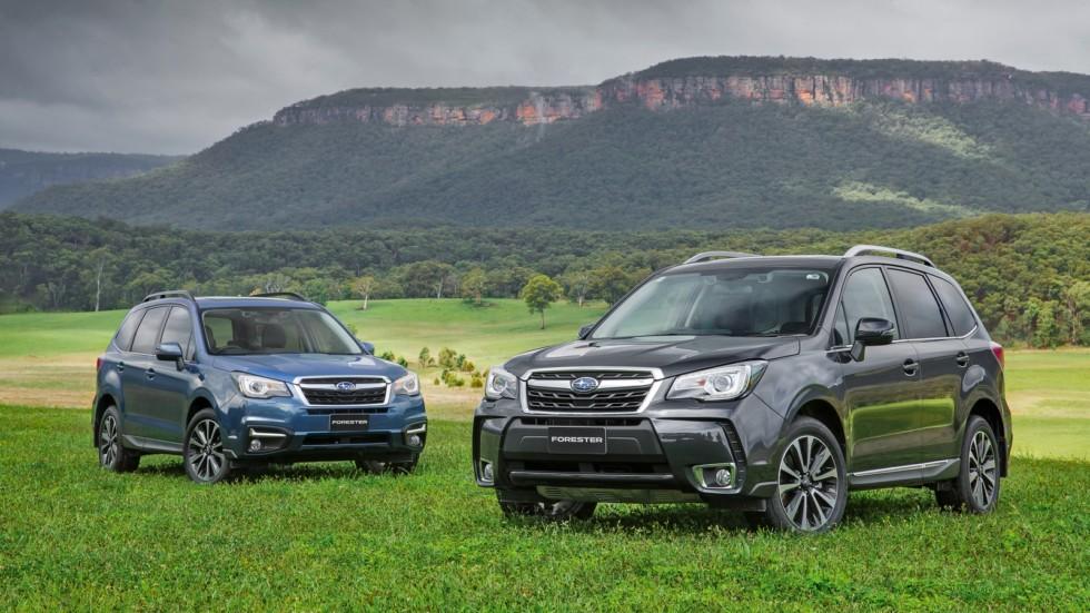 На фото: Subaru Forester '2012–н.в.