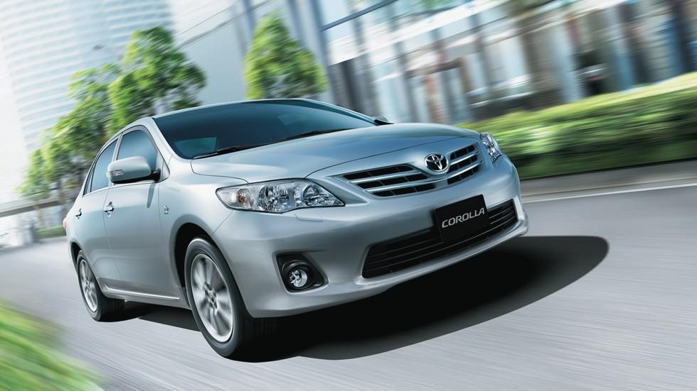 На фото: Toyota Corolla (E140) '2007–10