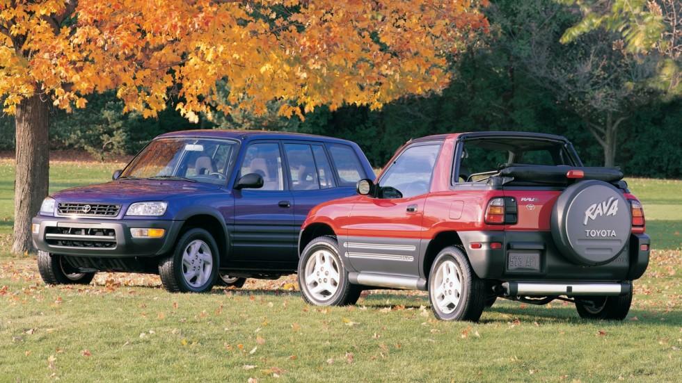 На фото: Toyota RAV4 '1994–2000
