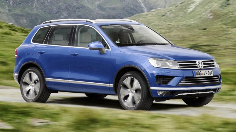 На фото: Volkswagen Touareg '2014–н.в.