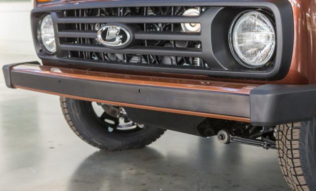 «АвтоВАЗ» начал производство юбилейной Лада 4x4 скожаным салоном