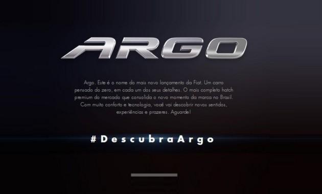 Fiat собирается выпустить новую модель под названием Argo