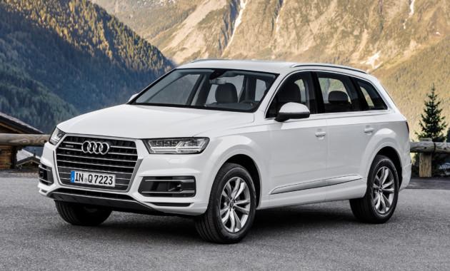 Audi расширила список базового оснащения кроссовера Q7