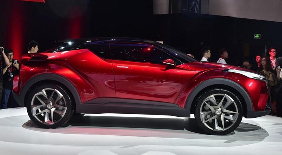Тойота C-HR по-китайски