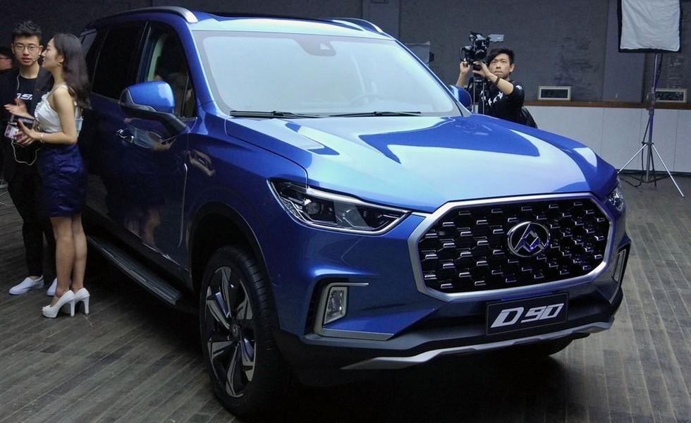 Компания SAIC представила серийный вседорожный автомобиль Maxus D90