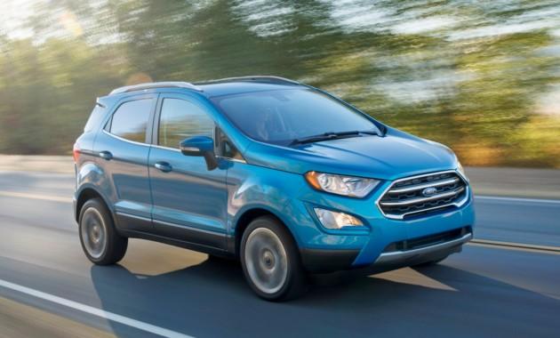 Представлена глобальная версия— Обновлённый Форд EcoSport