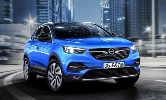 19АпрВ линейке Opel появился флагманский кроссовер