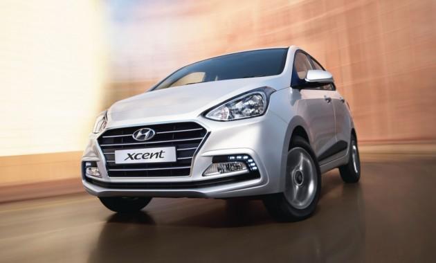 Hyundai презентовал новый седан Xcent