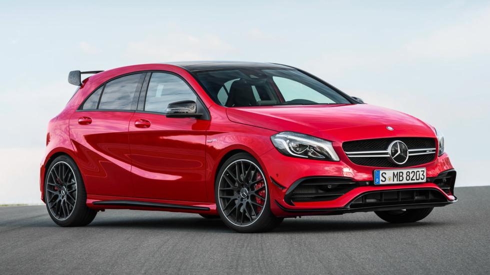 На фото: Mercedes-Benz A-Class