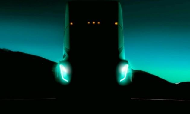 Tesla показала вглобальной web-сети 1-ый тизер своего грузового автомобиля