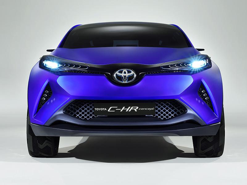 На фото: Toyota C-HR Concept '2014