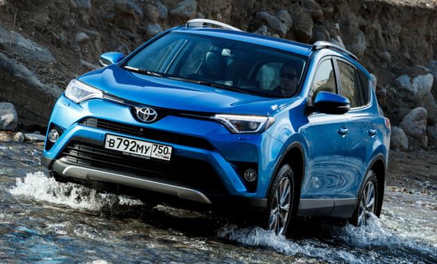 Спрос наавтомобили Тоёта в РФ вначале весны вырос на18%