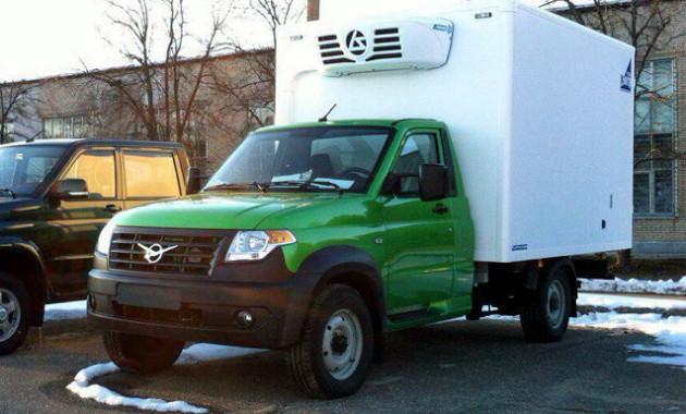 Новый фургон «УАЗ» запечатлен наиспытаниях