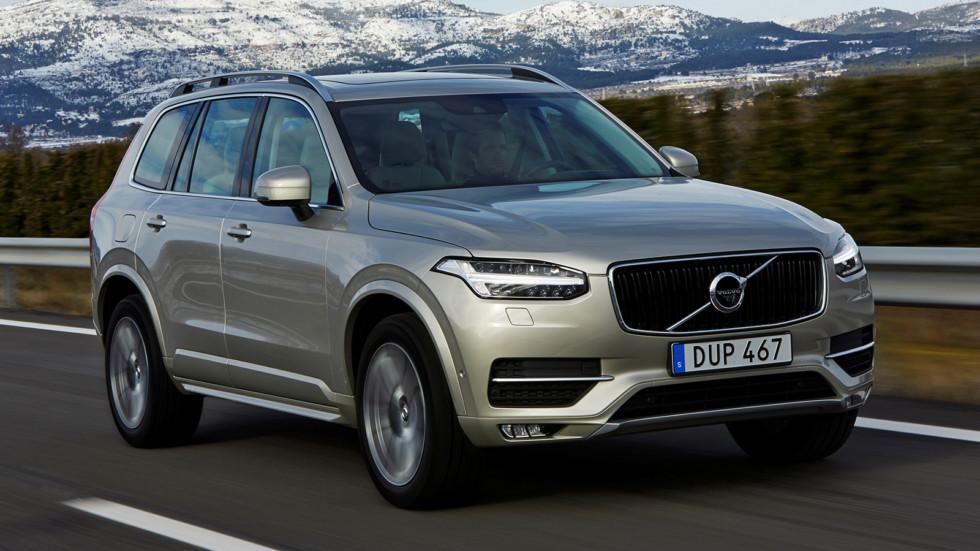 На фото: Volvo XC90. Цена в России - от 3 379 000 рублей
