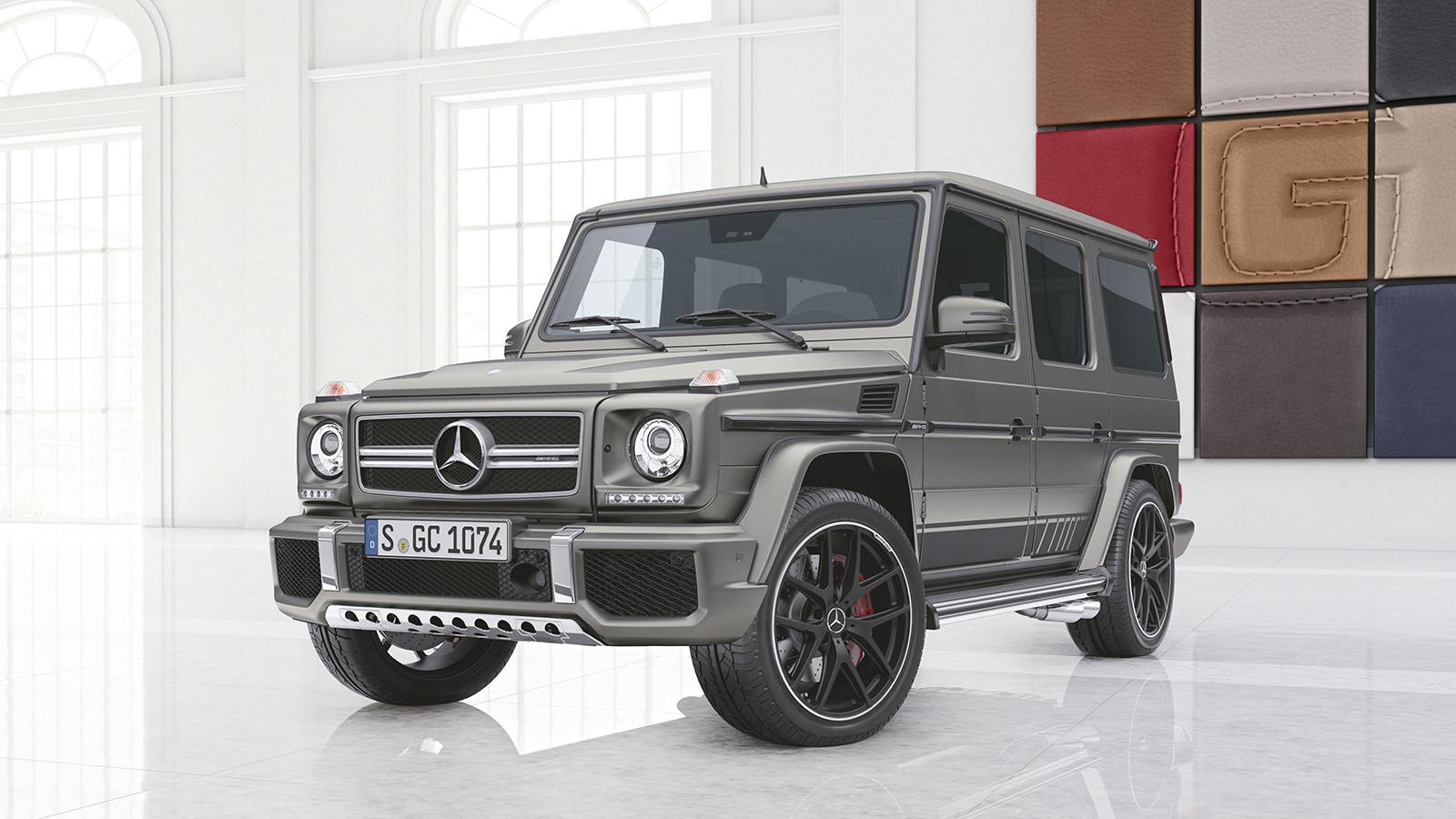 Benz представил новые версии G-Class