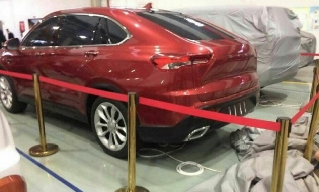 Китайская Bisu готовит кпремьере новое флагманское кросс-купе BT7