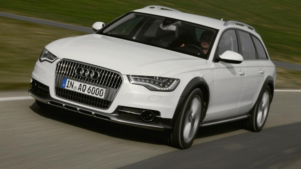 На фото: Audi A6 Allroad 3.0 TDI quattro '2012–14