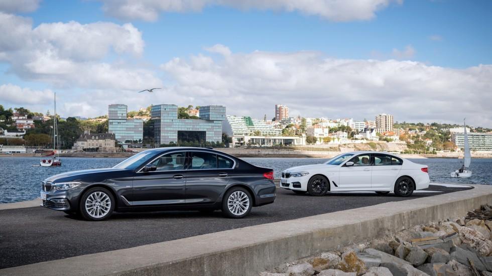 На фото: BMW 5 Series '2017