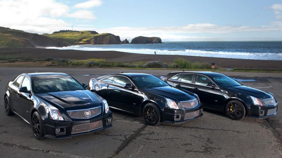 На фото: Cadillac CTS