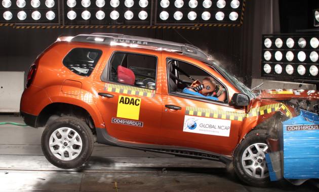 Кия Rio в простой комплектации провалил краш-тест Latin NCAP