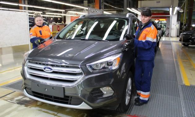 Форд модернизировал производство насвоем заводе в Российской Федерации