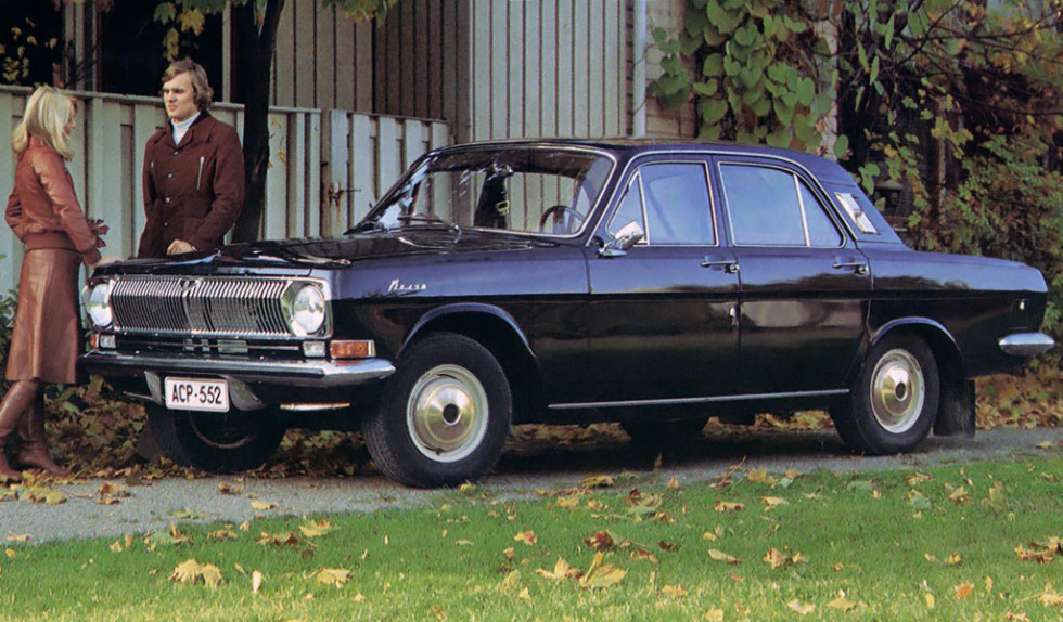 На фото: ГАЗ-24 Волга '1968–85