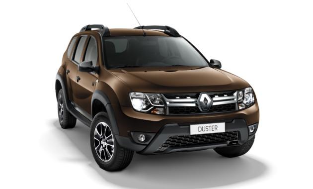 Рено Duster весной стал лидером петербургского рынка SUV