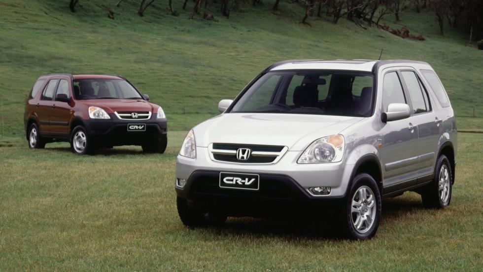 На фото: Honda CR-V '2001–04