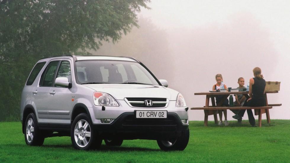На фото: Honda CR-V (RD5) '2001–05